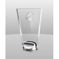 AM873  Golf Ball Acrylic Award